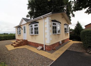 Thumbnail 2 bed mobile/park home for sale in Ellis Drive, Oakfield Park, Llay, Wrexham