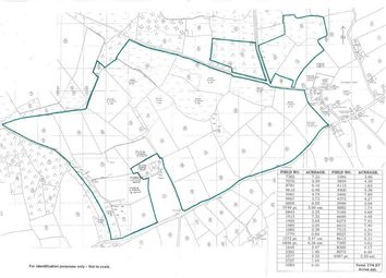Thumbnail Land for sale in Land Formerly Part Of Tregydd, St Davids, Haverfordwest, Pembrokeshire