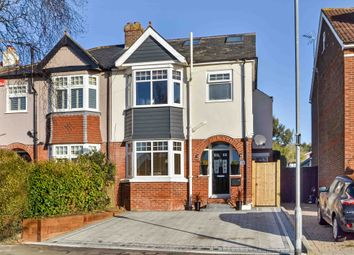 Thumbnail 4 bedroom semi-detached house for sale in Solent Road, Drayton, Portsmouth