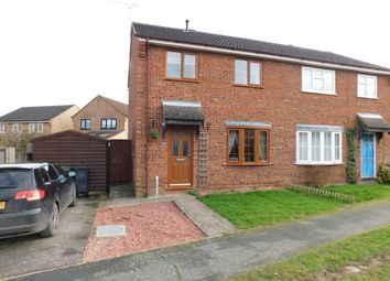 Thumbnail 3 bedroom semi-detached house for sale in Lowry Way, Stowmarket