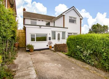 Thumbnail 4 bed detached house for sale in Vale View Crescent, Llandough, Penarth