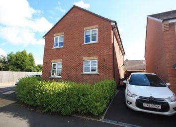 Thumbnail 4 bedroom detached house for sale in Rowhurst Crescent, Talke, Stoke-On-Trent