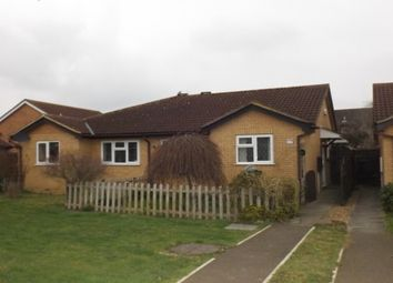Thumbnail 2 bed detached bungalow to rent in Belvoir Walk, Bedford