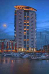 Thumbnail 1 bedroom flat to rent in 16F Meridian Tower, Swansea