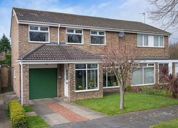 Thumbnail 4 bed semi-detached house for sale in Wood Grove, Denton Burn, Newcastle Upon Tyne