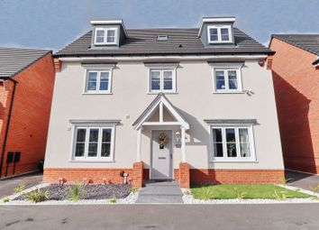 Thumbnail 5 bed detached house for sale in Burgess Way, Worsley, Manchester
