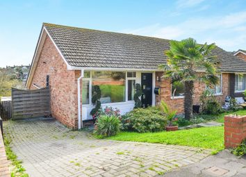 Thumbnail 2 bed semi-detached bungalow for sale in Valley Close, Newhaven