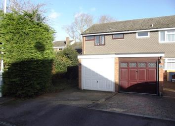 Thumbnail 3 bed semi-detached house for sale in Kingsmede, Shefford, Bedfordshire