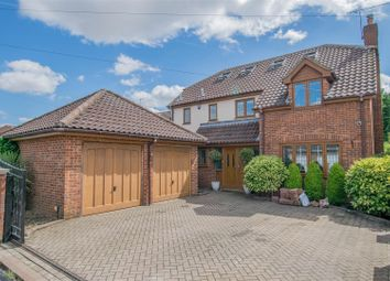 Thumbnail 5 bed detached house for sale in Derby Road, Hoddesdon