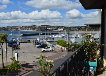 Thumbnail 2 bed flat for sale in Royal Marina Court, Beacon Terrace, Torquay