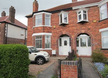 Thumbnail 4 bed semi-detached house to rent in Windsor Avenue, Anlaby, Hull