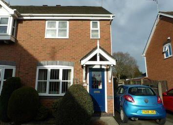 Thumbnail 2 bed semi-detached house for sale in Hackett Close, Ashby-De-La-Zouch