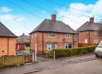 Thumbnail 2 bedroom semi-detached house for sale in Carnwood Road, Nottingham