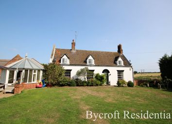 Thumbnail 4 bed detached house for sale in Hall Road, Hopton, Great Yarmouth