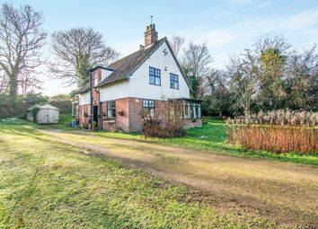 Thumbnail 3 bed detached house for sale in The Street, Lamas, Norwich