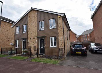 Thumbnail 2 bed semi-detached house for sale in Addington Avenue, Wolverton, Milton Keynes