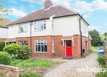 Thumbnail 3 bed semi-detached house for sale in Trafford Road, Norwich