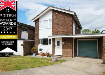 Thumbnail 3 bed link-detached house for sale in Causton Way, Near To Station And Schools, Rayleigh, Essex