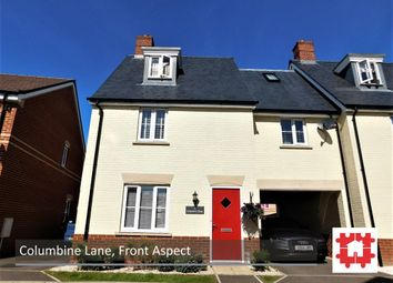 Thumbnail 4 bedroom town house for sale in Columbine Lane, Stotfold, Herts