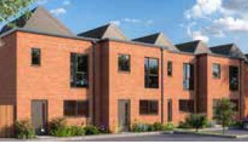 Thumbnail 3 bed town house for sale in Cowper Street, Leicester