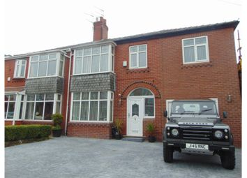 Thumbnail 4 bed semi-detached house for sale in Chadderton Park Road, Oldham