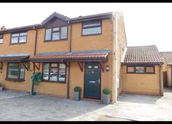 Thumbnail 3 bed semi-detached house for sale in Austen Close, Totton, Southampton