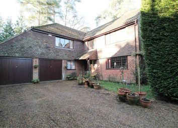 Thumbnail 5 bed detached house to rent in Wood Riding, Pyrford Woods, Pyrford, Woking