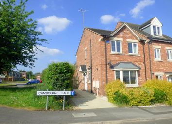 Thumbnail 3 bed town house for sale in Cambourne Place, Mansfield