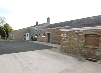 Thumbnail 4 bed detached bungalow for sale in Newton Arlosh, Wigton