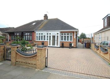 Thumbnail 2 bed semi-detached bungalow for sale in Meadow Road, Grays