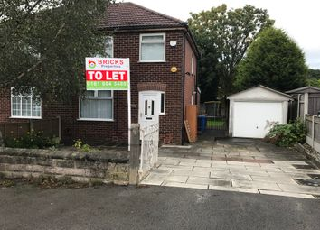 Thumbnail 3 bed semi-detached house to rent in Granville Road, Cheadle Hulme, Cheadle