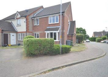 Thumbnail 1 bed end terrace house for sale in Radcliffe Road, Drayton, Norwich