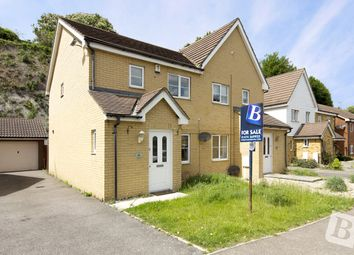 Thumbnail 3 bed semi-detached house for sale in Maritime Gate, Gravesend, Kent