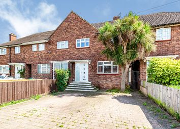 Thumbnail 3 bed terraced house for sale in Huntingfield Way, Egham