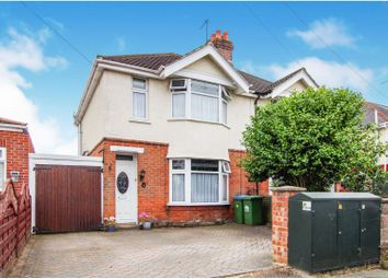 Thumbnail 3 bed semi-detached house for sale in Lancaster Road, Southampton