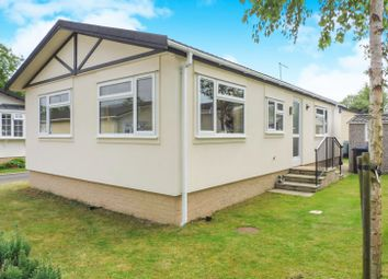 Thumbnail 2 bedroom mobile/park home for sale in Padnal, Littleport, Ely