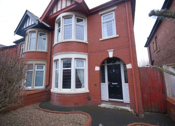 Thumbnail 3 bedroom semi-detached house for sale in Woodstock Gardens, Blackpool