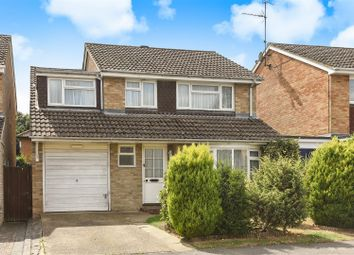 Thumbnail 4 bed link-detached house for sale in Sarum Crescent, Wokingham, Berkshire