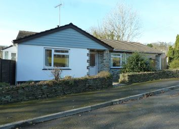 Thumbnail 4 bedroom detached bungalow for sale in Warrens Field, Camelford