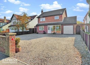 Thumbnail 3 bed detached house for sale in Wroxham Road, Norwich, Norfolk