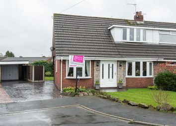 Thumbnail 3 bed semi-detached house for sale in Longfield Avenue, Coppull, Chorley