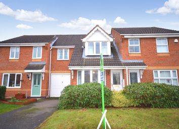Thumbnail 3 bed terraced house for sale in Glenalmond Close, Ashby-De-La-Zouch