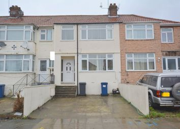 Thumbnail 3 bed terraced house for sale in Brent Park Road, London