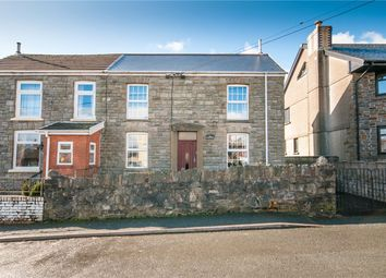 3 bed semi-detached house for sale in Station Road, Coelbren, Neath SA10