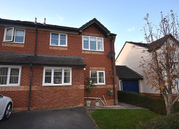 Thumbnail 3 bed semi-detached house for sale in Jupes Close, Exminster, Near Exeter