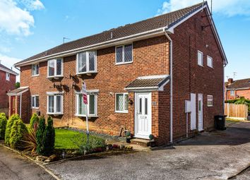 Thumbnail 2 bedroom flat for sale in Oakwell Close, Maltby, Rotherham