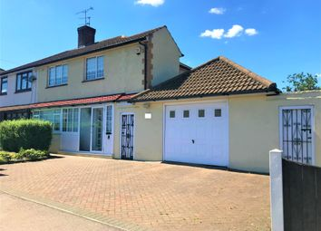 Thumbnail 3 bed semi-detached house to rent in Church Road, Romford, Harold Wood