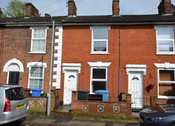 Thumbnail 3 bed terraced house to rent in Myrtle Road, Ipswich