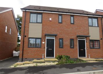 Thumbnail Semi-detached house for sale in Sampson Avenue, Bramshall, Uttoxeter