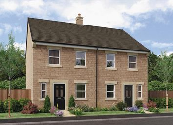 "Thumbnail 3 bedroom semi-detached house for sale in ""Hawthorne"" at King Street, Drighlington, Bradford"